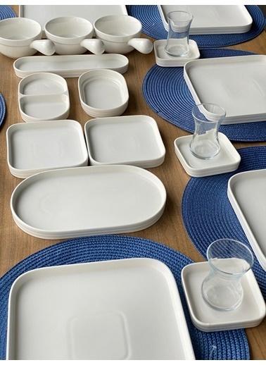 ROSSEV Kahvaltı Takımı Pure 67 Parça 12 Kişilik Renkli